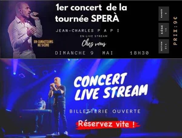 concert live stream jean charles papi